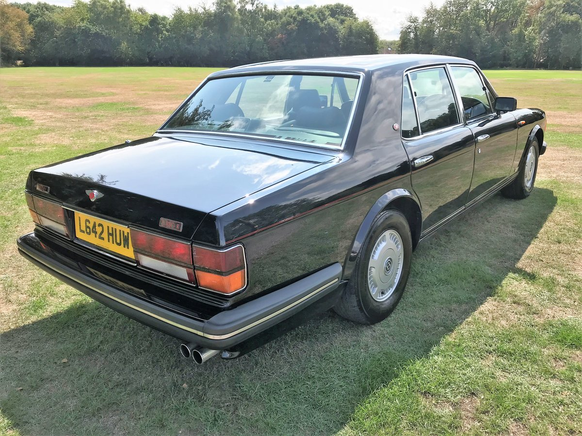1994 Bentley Turbo R + black with black+69000m SOLD (picture 6 of 6)
