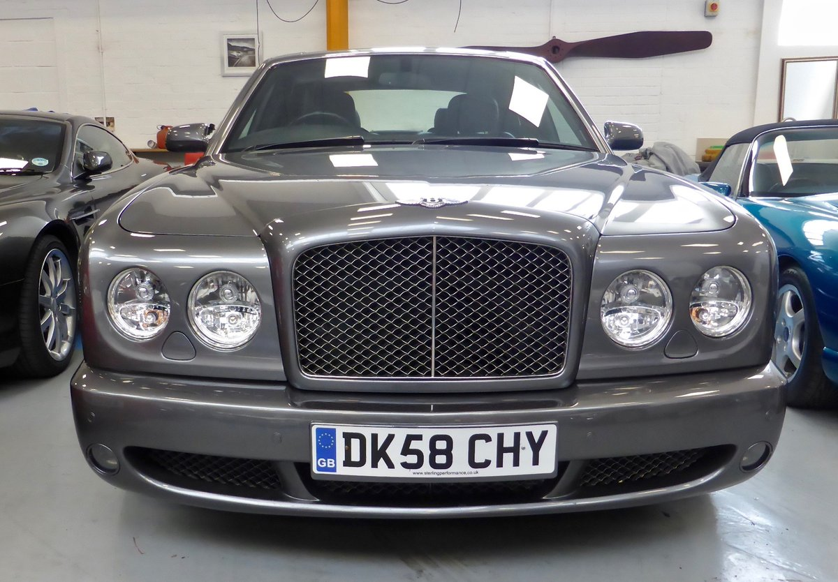2008 Bentley Arnage T Auto Mulliner Ed For Sale (picture 1 of 6)