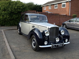 1954 R Type Bentley Automatic