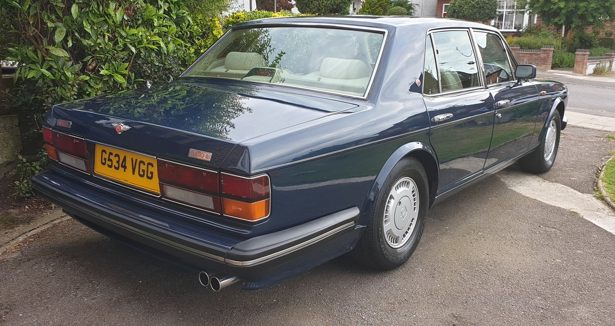 1990 Bentley Turbo R For Sale (picture 3 of 6)