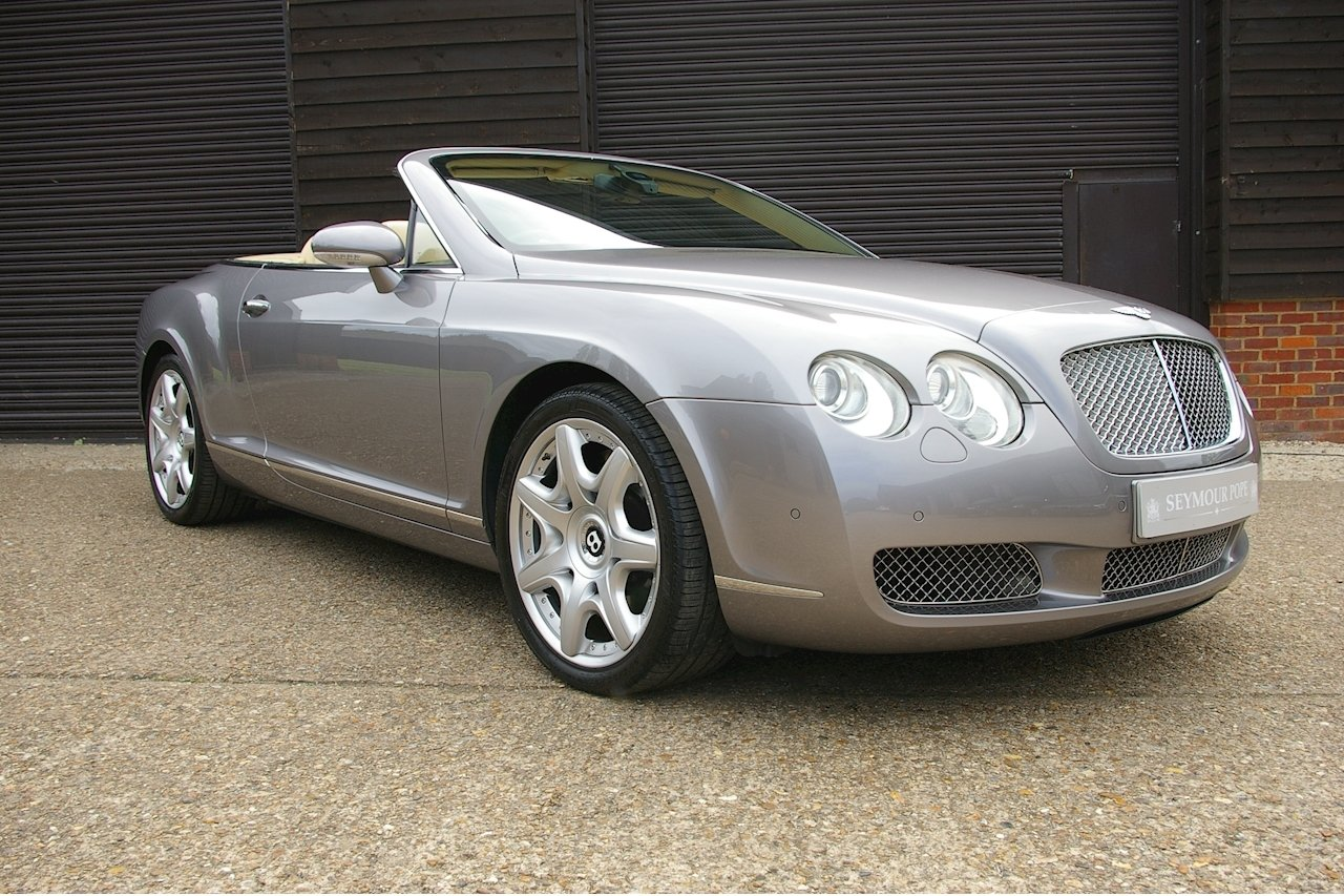 2008 Bentley Continental 6.0 W12 GTC MULLINER (37,545 miles) For Sale (picture 1 of 6)
