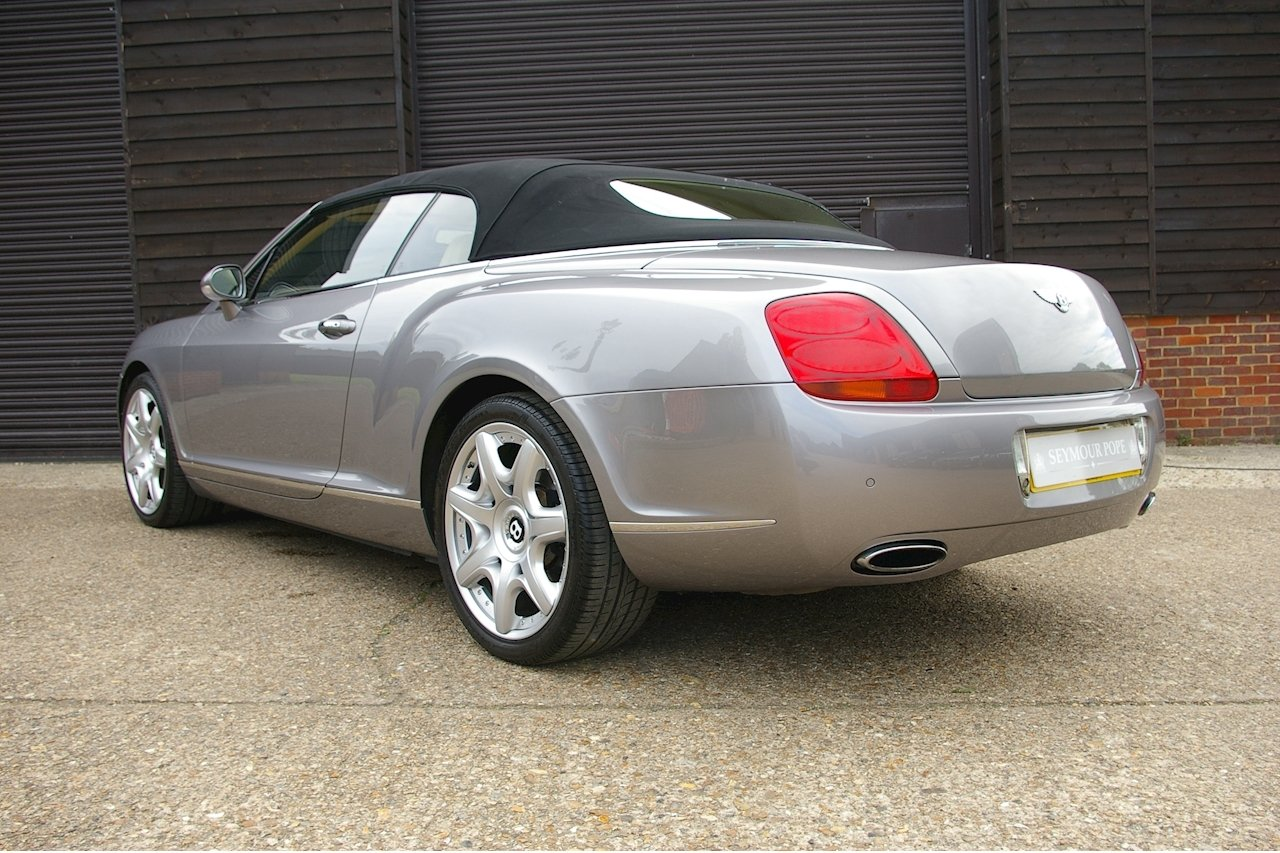2008 Bentley Continental 6.0 W12 GTC MULLINER (37,545 miles) SOLD (picture 3 of 6)
