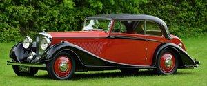 1936 Derby Bentley 4 ¼ Sports Coupé,Coachwork by Vanden Plas For Sale