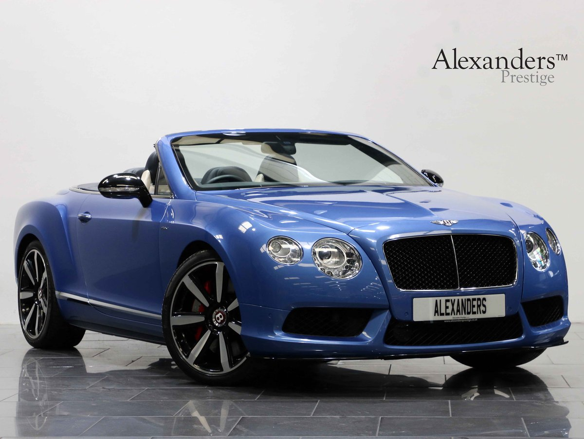 2014 14 BENTLEY CONTINENTAL GTC 4.0 V8 S AUTO For Sale (picture 1 of 6)