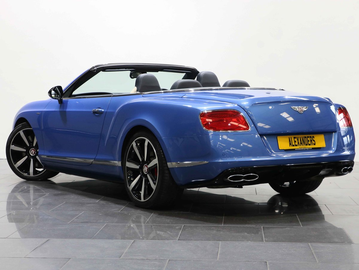 2014 14 BENTLEY CONTINENTAL GTC 4.0 V8 S AUTO For Sale (picture 3 of 6)