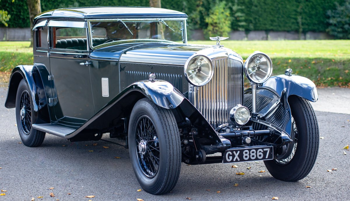 1932 Bentley 8 Litre Short Chassis Coupe For Sale (picture 1 of 6)
