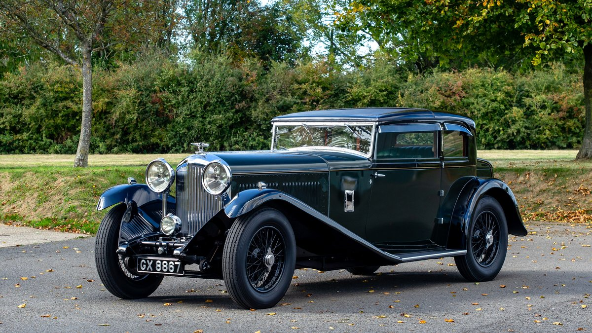 1932 Bentley 8 Litre Short Chassis Coupe For Sale (picture 2 of 6)