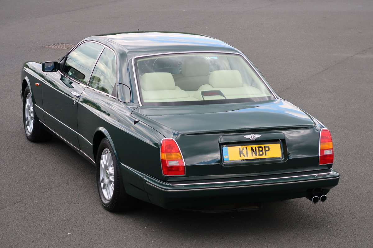 1993 Bentley Continental R Sold Car And Classic
