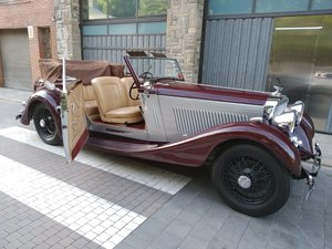 1935 Bentley 3 1/2 Drophead Coupé by James Yound