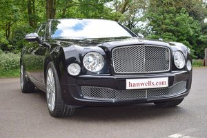 2014/14 Bentley Mulsanne Mulliner in Onyx