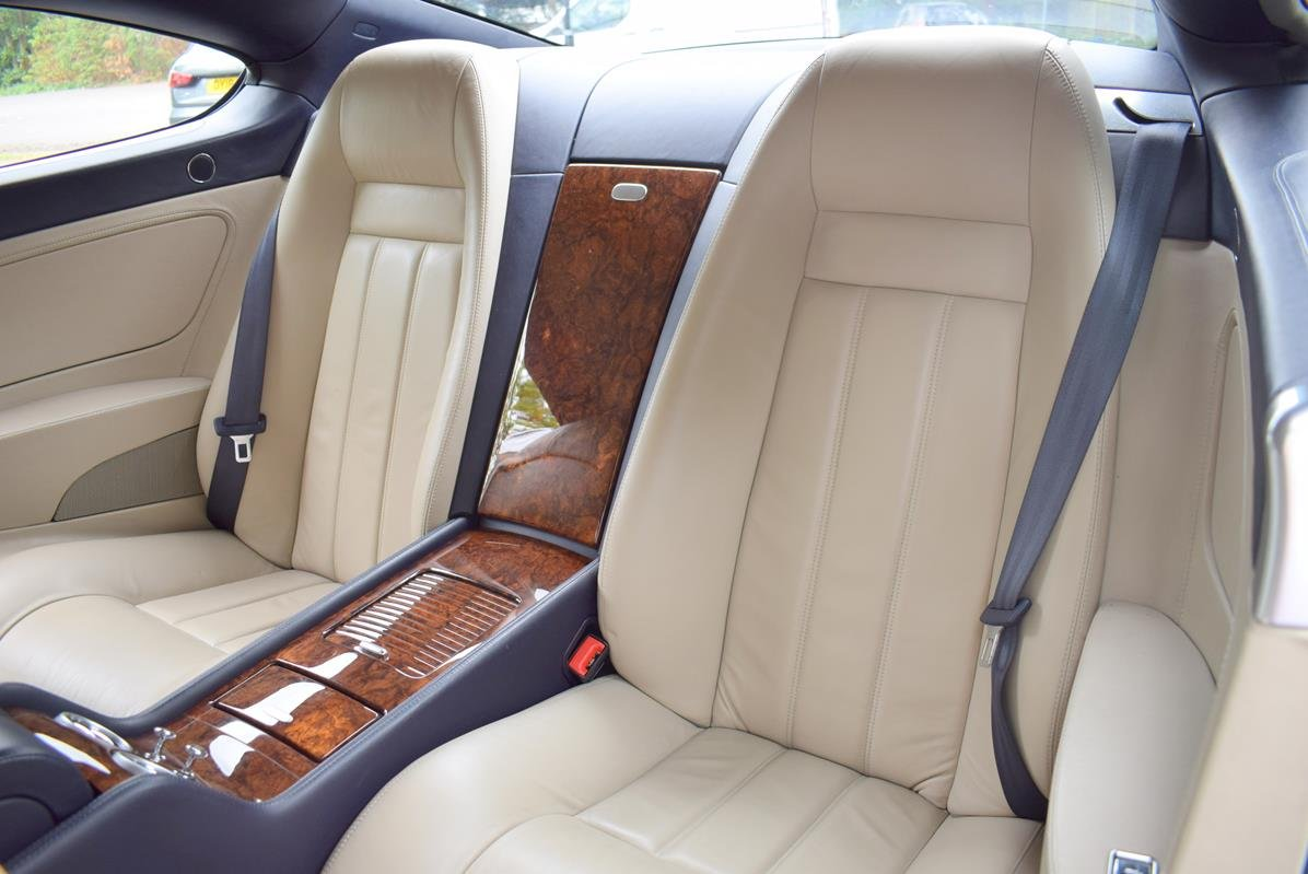 2004/54 Bentley Continental GT in Moonbeam Silver For Sale (picture 3 of 6)