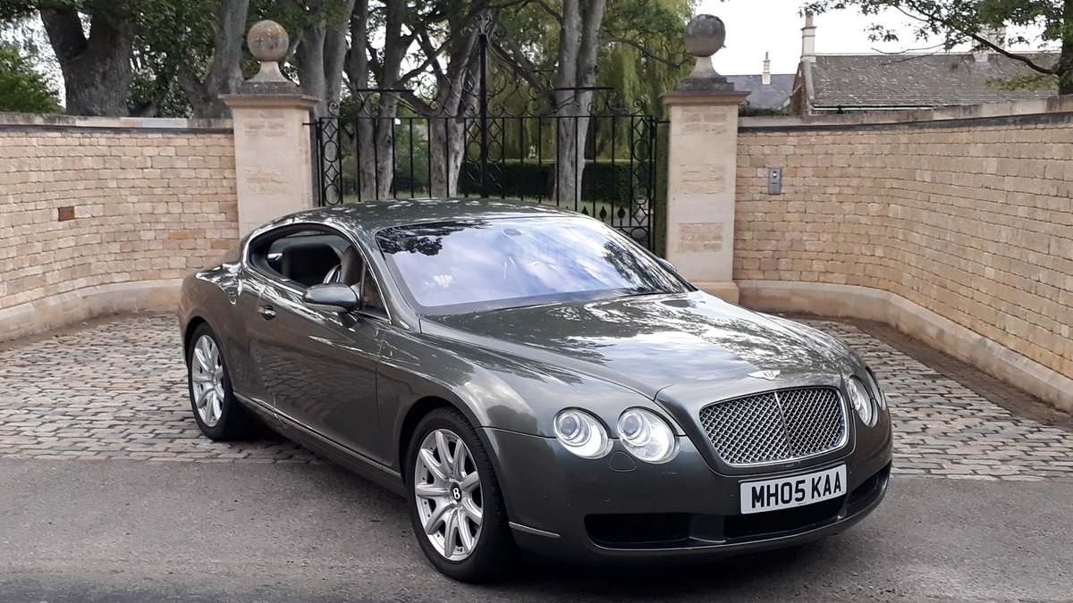 Bentley Continental GT 2005 1 Owner 9 Services Receipts W12 For Sale (picture 1 of 6)