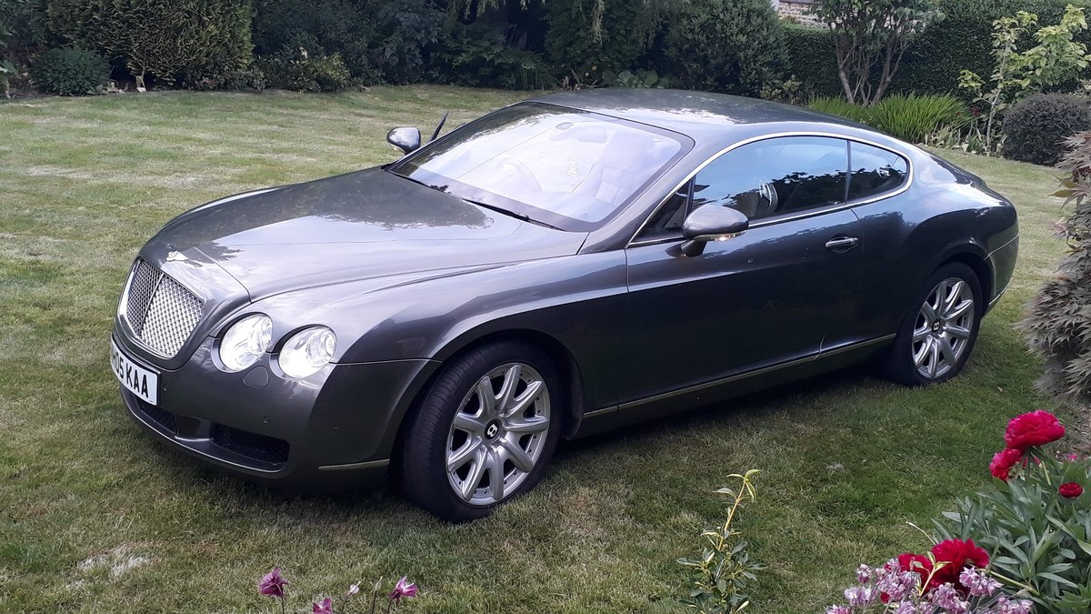 Bentley Continental GT 2005 1 Owner 9 Services Receipts W12 For Sale (picture 4 of 6)
