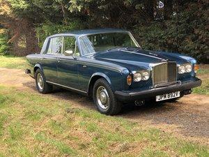 Bentley T 2 1979 Ex Margaret Thatcher For Sale