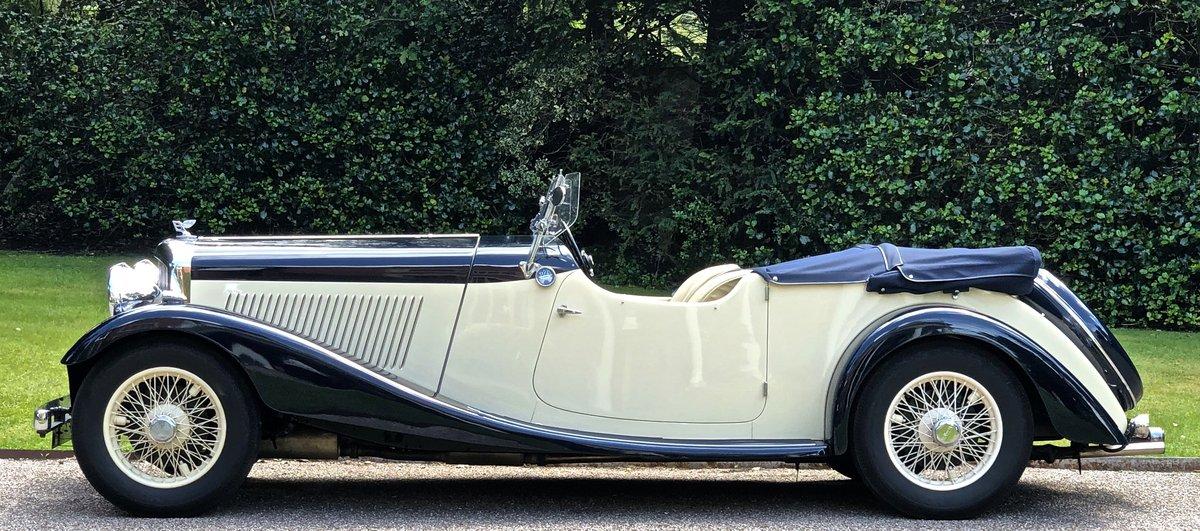 1935 BENTLEY 3 1/2 Litre Vanden Plas 4 seat tourer For Sale (picture 2 of 6)