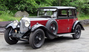 1931 Bentley 4ltr Gurney Nutting Saloon VF4011 For Sale
