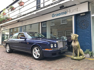 1997 Bentley Continental R - 26.250 miles only SOLD