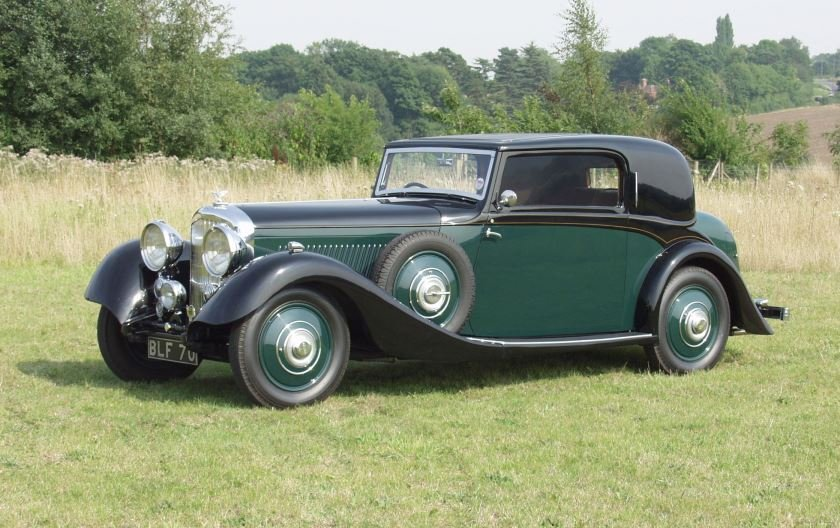 Bentley 3 ½ litre 1934 2-door Coupe by Hooper For Sale (picture 1 of 4)