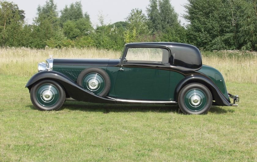 Bentley 3 ½ litre 1934 2-door Coupe by Hooper For Sale (picture 2 of 4)