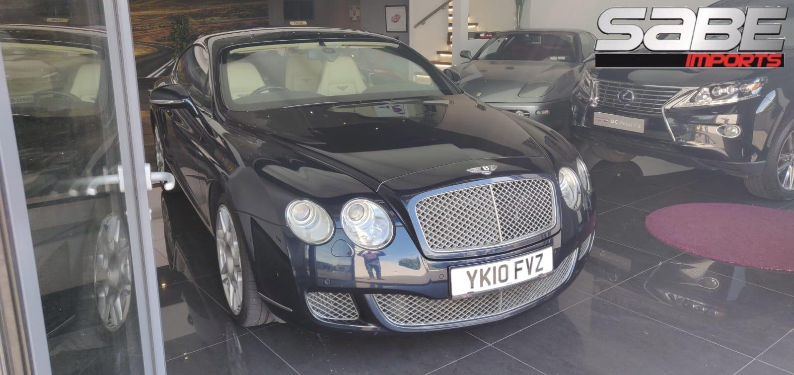 2010 Stunning Bentley Continental GT Mulliner For Sale (picture 1 of 6)