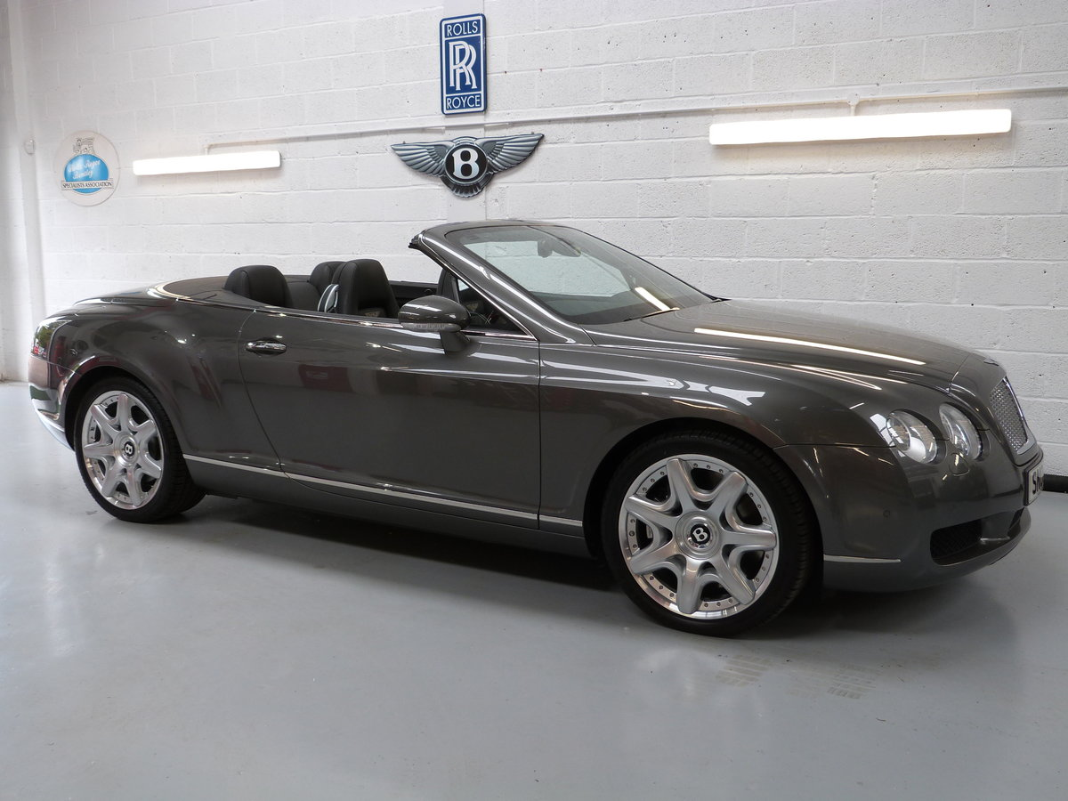 2008 Bentley  Continental  GTC Mulliner    Only 27,000miles For Sale (picture 1 of 6)