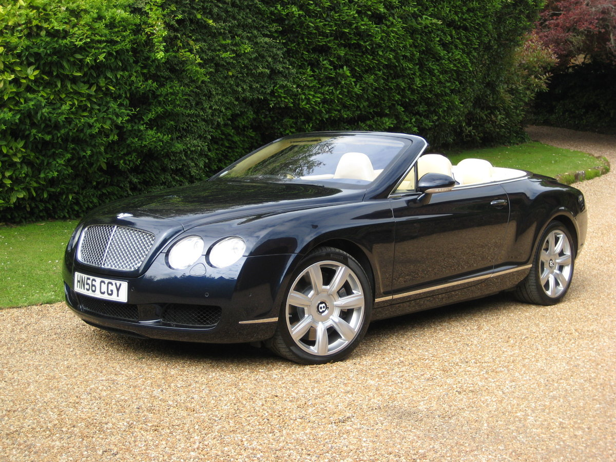 2007 Bentley GTC 1 Owner With Just 15,000 Miles From New For Sale (picture 2 of 6)