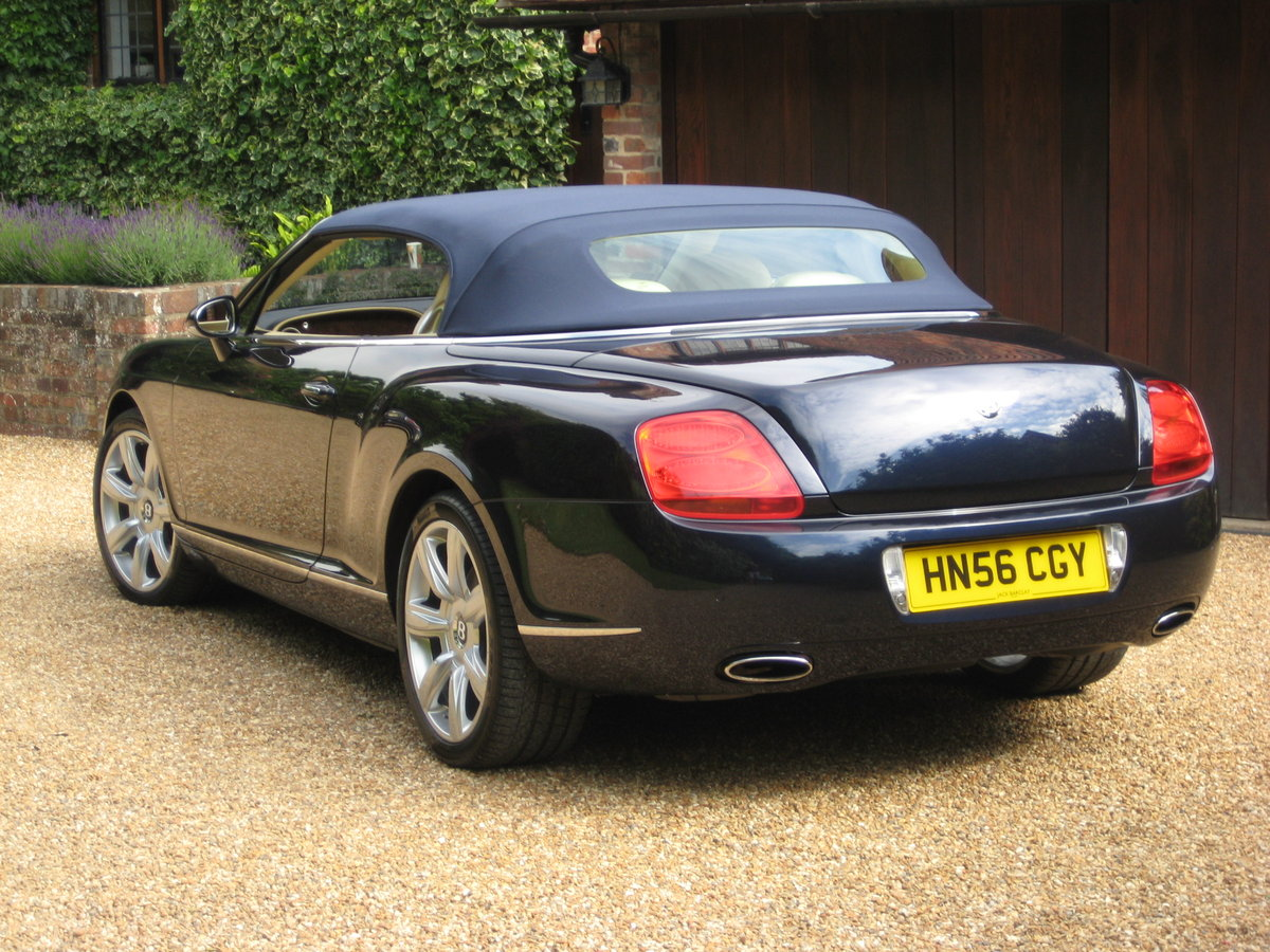 2007 Bentley GTC 1 Owner With Just 15,000 Miles From New For Sale (picture 5 of 6)