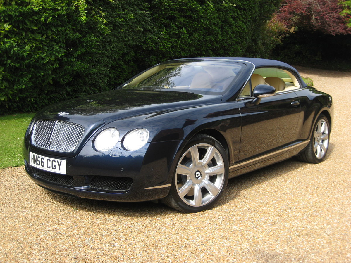 2007 Bentley GTC 1 Owner With Just 15,000 Miles From New For Sale (picture 1 of 6)