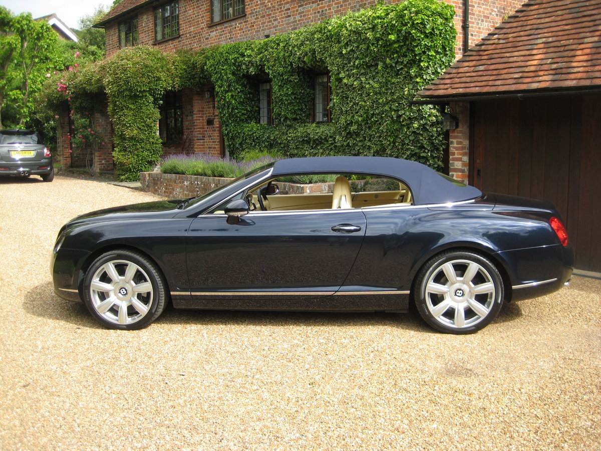 2007 Bentley GTC 1 Owner With Just 15,000 Miles From New For Sale (picture 6 of 6)