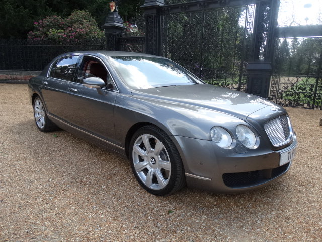 2005 BENTLEY CONTINENTAL FLYING SPUR V12 SOLD (picture 1 of 6)