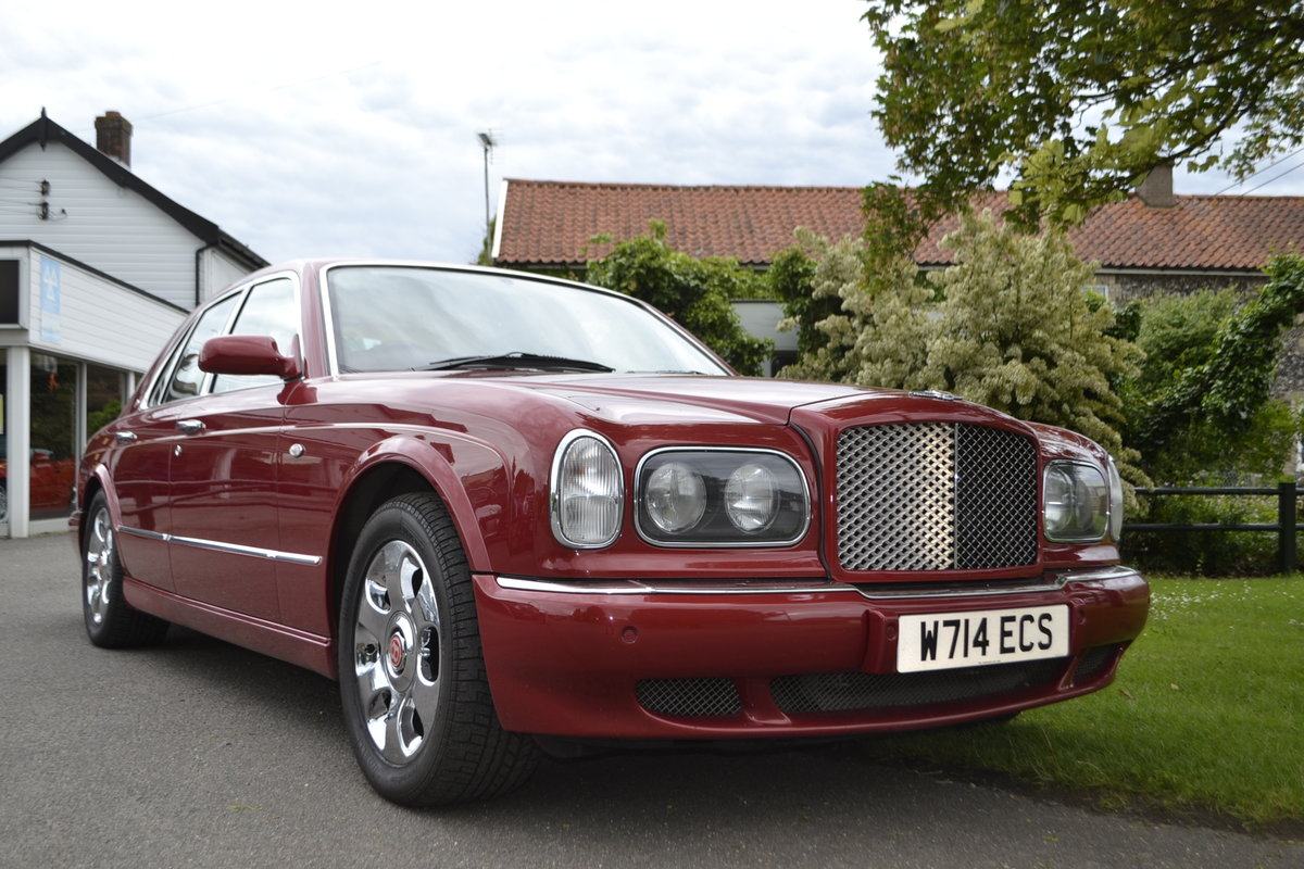 2000 Bentley Arnage Red Label For Sale (picture 8 of 11)