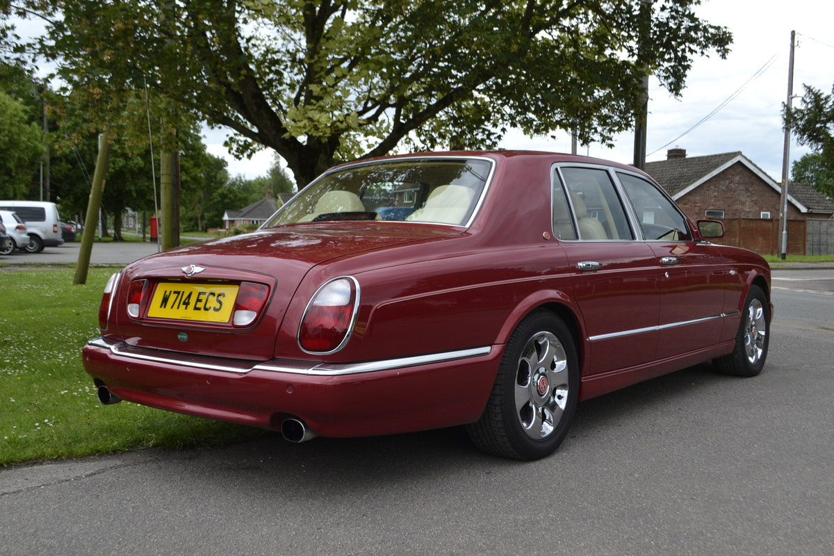 2000 Bentley Arnage Red Label For Sale (picture 10 of 11)