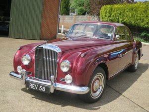 1958 Bentley S1 Continental  Fastback By HJ Mulliner For Sale