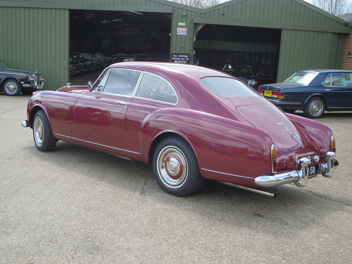 1958 Bentley S1 Continental  Fastback By HJ Mulliner For Sale (picture 3 of 6)