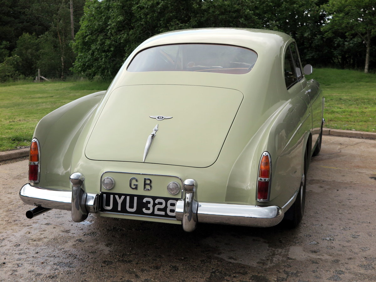 1958  Bentley S1 Continental H. J. Mulliner Fastback BC6EL For Sale (picture 2 of 6)