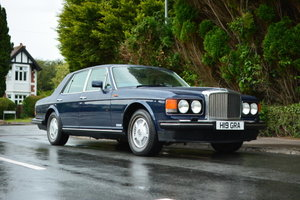 1990 Bentley Mulsanne S For Sale by Auction