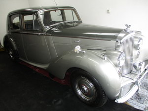 1950 Bentley Mk 6 4.25 Standard Steel saloon (B111HP). For Sale