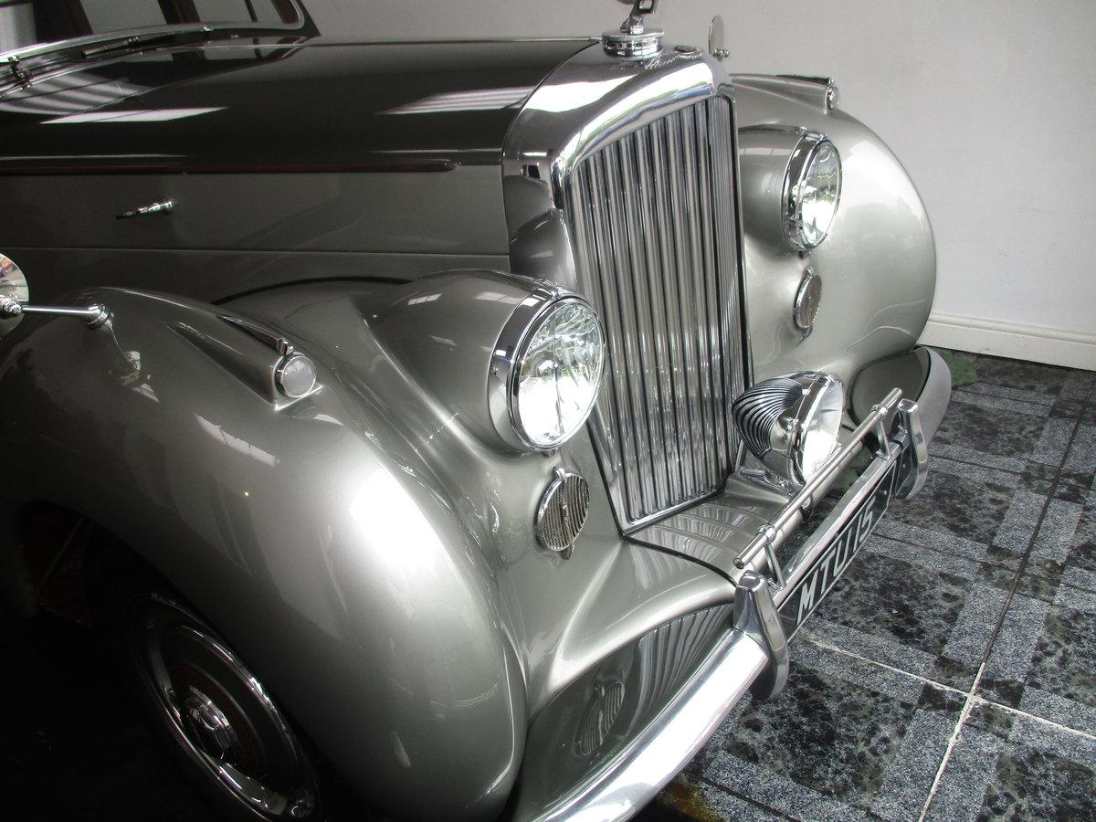 1950 Bentley Mk VI 4.25 Standard Steel saloon (B111HP). For Sale (picture 1 of 6)