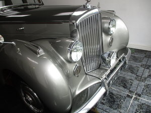 1950 Bentley Mk VI 4.25 Standard Steel saloon (B111HP). For Sale