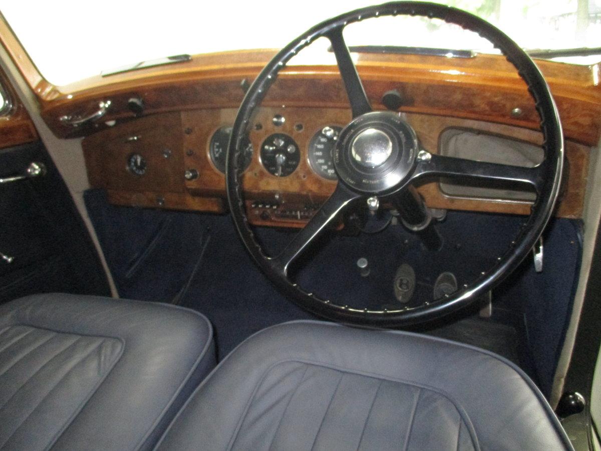 1950 Bentley Mk VI 4.25 Standard Steel saloon (B111HP). For Sale (picture 3 of 6)