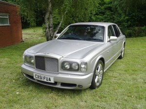 2002 Bentley Arnage T For Sale by Auction