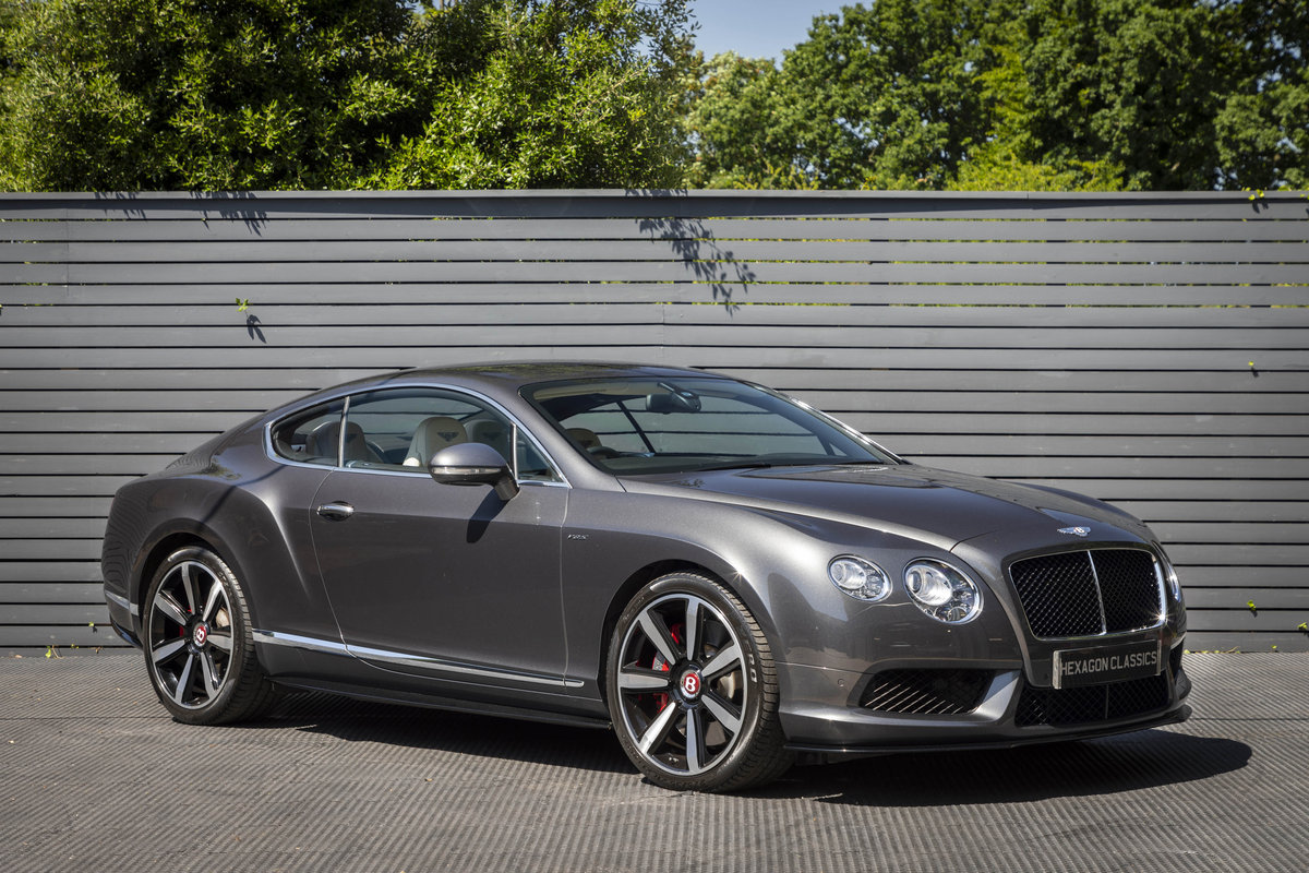 2014 Bentley Continental GT V8S Mulliner SOLD (picture 1 of 6)