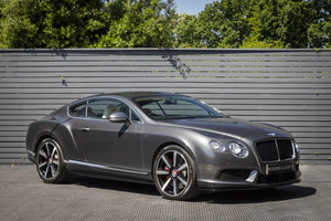 2014 Bentley Continental GT V8S Mulliner SOLD