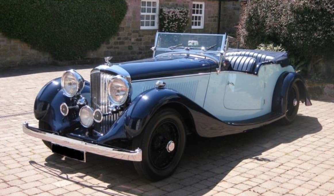 1936 DERBY BENTLEY 4¼ LITRE TOURER  For Sale (picture 1 of 1)