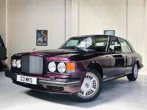 1992 BENTLEY BROOKLANDS, STUNNING COLOUR COMBINATION SOLD