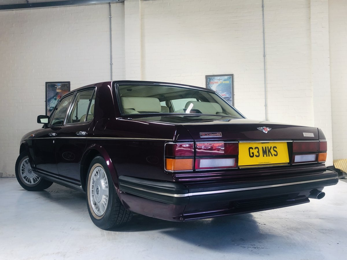 1992 BENTLEY BROOKLANDS, STUNNING COLOUR COMBINATION SOLD (picture 3 of 6)