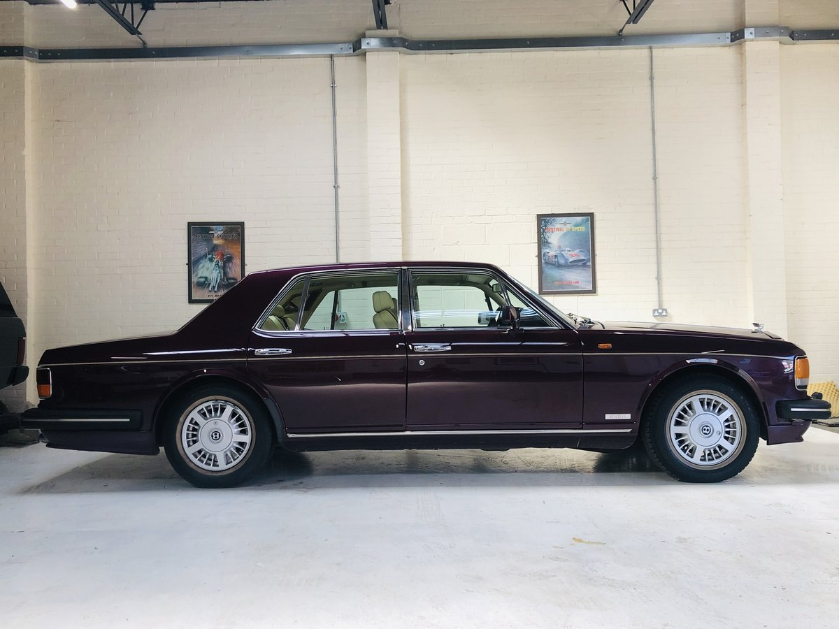 1992 BENTLEY BROOKLANDS, STUNNING COLOUR COMBINATION SOLD (picture 4 of 6)