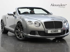 2014 14 BENTLEY CONTINENTAL GTC SPEED 6.0 W12 AUTO