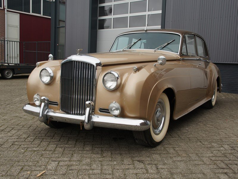 1955 Bentley S1 original LHD, original colours, early S1 For Sale (picture 5 of 6)