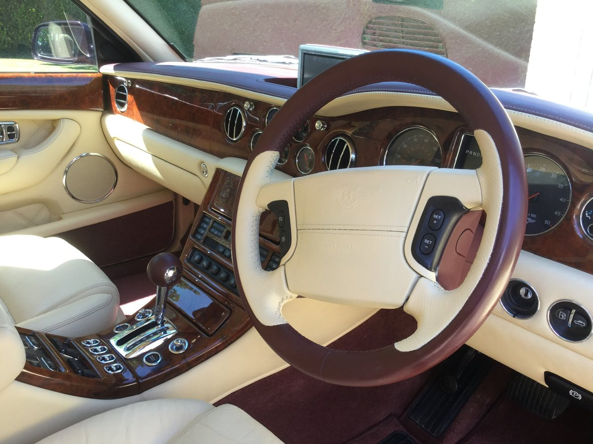 Bentley Arnage T 2002 REDUCED FOR QUICK SALE SOLD (picture 5 of 6)